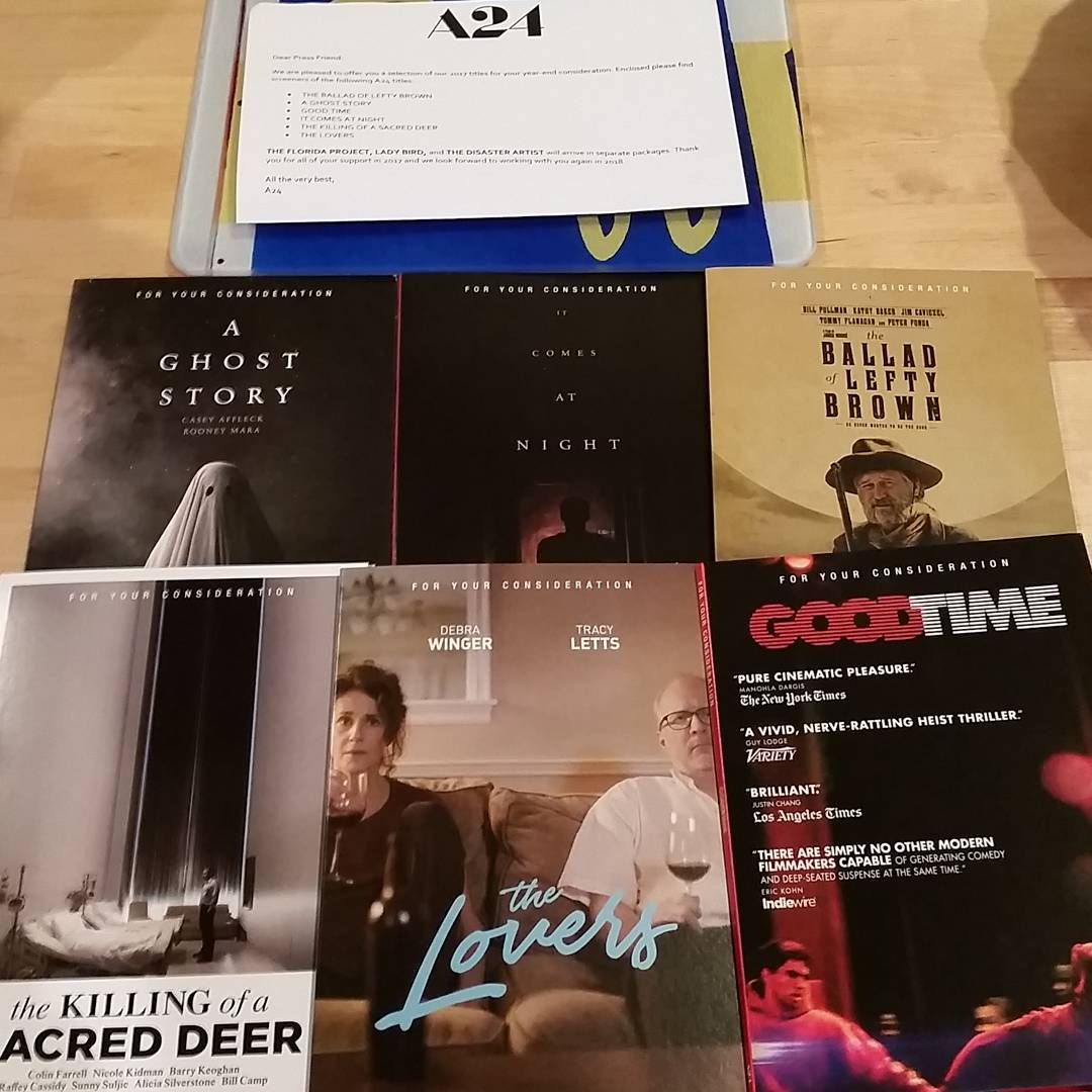 Where are the 2018 Oscar DVD Screeners? - Available as a download or