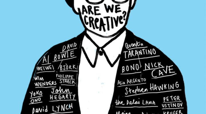 Why Are We Creative: The Centipede's Dilemma