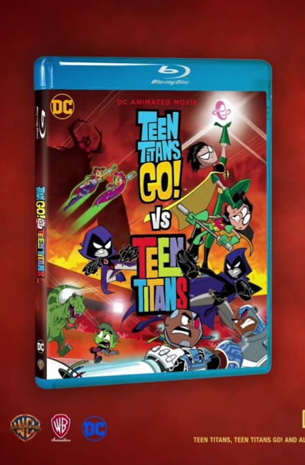 Teen Titans Go Vs Teen Titans - Available As A Download Or Stream-9677