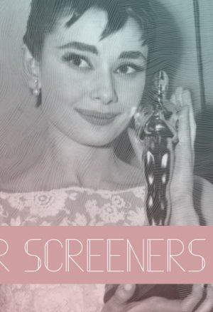 The 2021/2022 Oscar DVD Screeners