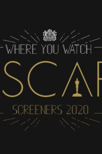 2020 Oscar DVD Screeners - Here they are